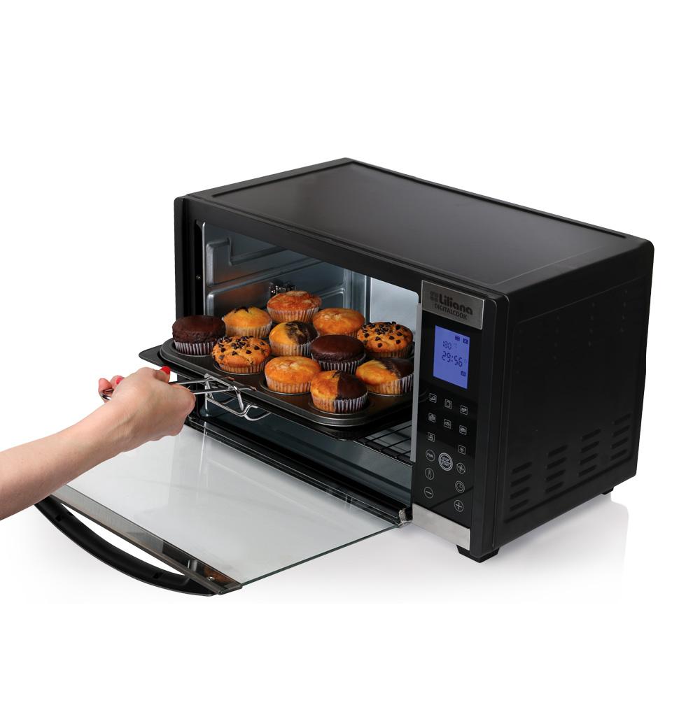 Horno el ctrico digitalcook liliana segu tu receta for Precios de hornos electricos pequenos