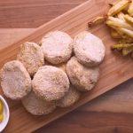Patitas de pollo con Papas Fritas